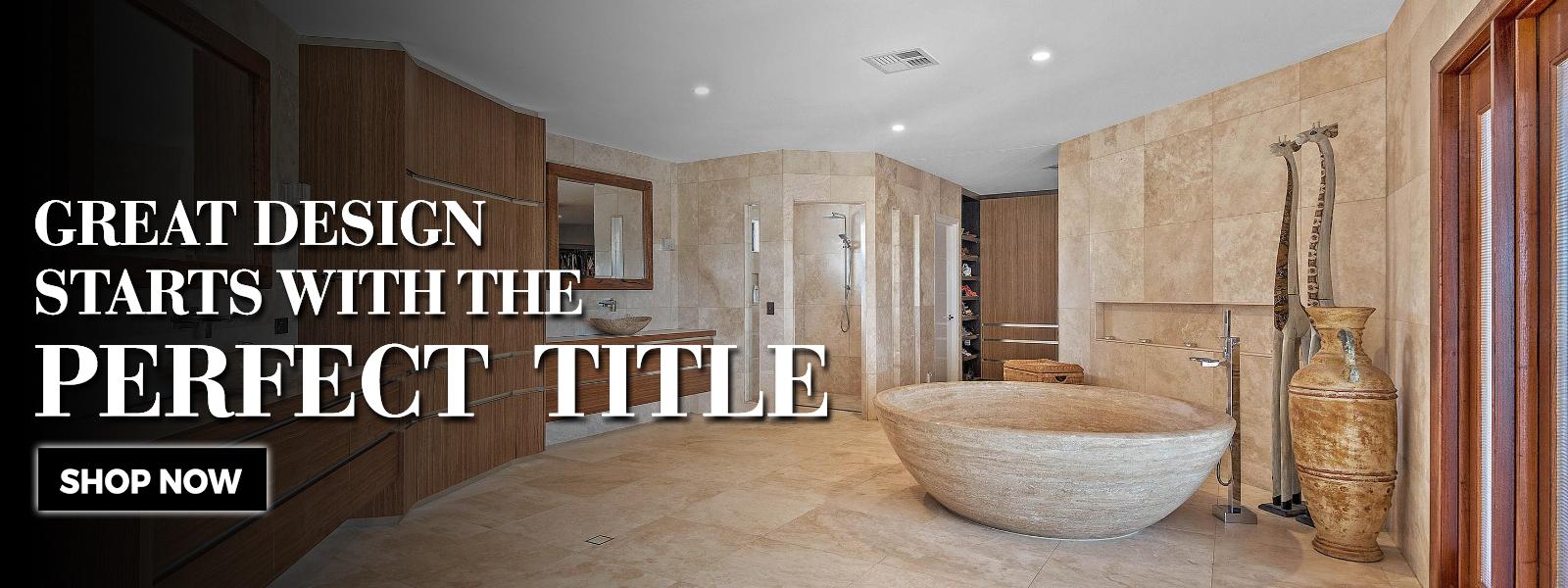 Stone Bathware
